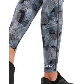 2XU Print Fitness Hi-Rise Compression Tights Dam arty camo black/silver